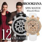 BROOKIANA(ブルッキアーナ) スピンウォッチ 腕時計 メンズウォッチ レディースウォッチ BA2312-BA2313