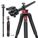 カメラ三脚 360度 回転可能 センターコラム 184cm 三脚レッグ DSLRカメラ ビデオカメラ Neewer
