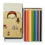 奈良美智 (ならよしとも) Yoshitomo Nara カラーペンシルセット 色鉛筆 鉛筆 セット SET ペン Dream Time 女