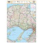 スクリーンマップ 分県地図 兵庫県 (ポスター地図 | マップル)