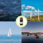OTraki 風速計 GM816 デジタル 高精度 操作簡単 手軽 温度計 搭載 室外 作業現場 漁業 農業 スポーツ ドローン 適用 風力