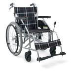 自操式車いすKV22-40SB カワムラサイクル  介助者用ブ