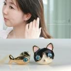 ピアス 可愛いキャットピアス レディース 猫好き ネコピアス