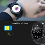 SIM�������դ�1.22�����V8���ޡ��ȥ����å�Android��iPhone��Ŭ����Bluetooth TF����å�Smartwatch Camera WristWatch