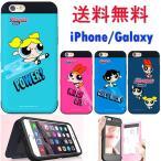 The Powerpuff Girls Card Bumper/パワーパフガールズ/iPhone 5/5s/SE/6/6s/6 Plus/6s Plus/7/7 Plus/Galaxy S7 edgeケース/カバー/スマホケース