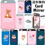 Tom and Jerry Card Bumper/トムとジェリー/iPhone 5/5s/SE/6/6s/6 Plus/6s Plus/7/7 Plus/Galaxy S7 edgeケース