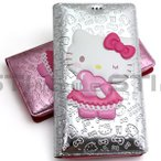 【送料無料】Hello Kitty Standing Flip/ハローキティ手帳型ケース/iPhone 5/5s/SE/6s/6s Plus/7/7 Plus/Galaxy S5/S6/S6 edge/S7 edge/Note 3/Note Edge