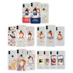 [JN] Anne of Green Gables Flower Clear Jelly/赤毛のアン/iPhone/Galaxy ケース/カバー/スマホケース
