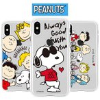 Snoopy Clear Jelly/スヌーピー/iPhone/Galaxy ケース/カバー/スマホケース