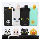 KOU KOU/How to Train Your Dragon Figure/Kung Fu Panda/Shrek/ Figure Color Jelly/iPhone/GALAXY ケース/カバー