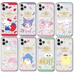 [79] Sanrio Characters Happniness Clear Jelly/サンリオ/iPhone/Galaxy カバー/スマホケース