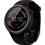 Moto 360 2nd Gen 2015 Smart Watch スマートウォッチ 腕時計 Android Wear iOS対応 (Moto 360 Sport ブラック・ホワイト)