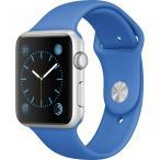 Apple Watch Sport MMFM2LL/A 42mm 【ブルー】 アップル ウォッチ スポーツ Aluminum