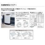 パナソニック 洗濯機用防水フロアー(洗濯機パン/二槽式用・Mタイプ) 【GB606J】