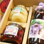 山梨の桃・ぶどうを使ったスイーツギフトセット(100%果汁セット)濃縮還元ブドウジュースセット お歳暮の贈り物に最適