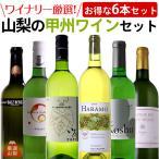 ワイナリーが選んだこの1本! 甲州ワイン 6本セット 塩山洋酒 原茂ワイン まるき葡萄酒 アルプスワイン シャトージュン シャトー酒折