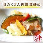具たくさん肉野菜炒め1パック 惣菜 お惣菜 おかず ギフト  おつまみ お試し セット 冷凍 無添加 お弁当 詰め合わせ 食品 煮物