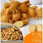 食用 タイ産ほほえみショウガ 10kg(近江生姜 白)