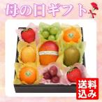 母の日 プレゼント ギフト 母の日 果実のキモチ フルーツ宝石箱 送料込み メーカー直送 お届け期間5月7日〜10日 くだもの