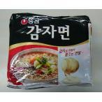 韓国食品 じゃがいも麺(即席めん)585g(110gX5食入り)、韓国インスタント麺♪