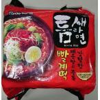 韓国食品 トゥンセラーメン(即席中華めん)500g(120gX5食入り)、韓国インスタント麺♪