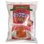 かんてんぱぱ カップゼリー 80℃ ピーチ味 約40人分 200g×3袋入 伊那食品