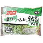 冷凍食品 業務用 ニッスイ 塩あじ茶豆(枝つき) 1kg