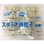 スタミナ肉餃子 皮厚 10個入 冷凍 味の素 AJINOMOTO 業務用