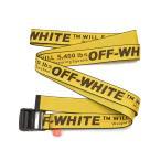 OFF-WHITE オフホワイト INDUSTRIAL BELT イエローベルト OMRB012S186470086000 イタリア正規品 新品