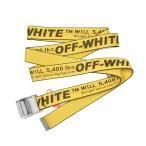 OFF-WHITE オフホワイト INDUSTRIAL BELT イエローベルト OWRB009R182230196010 イタリア正規品 新品
