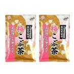 2袋セット 前島食品 梅こぶ茶 300g 大容量 北海道道内産真昆布の粉末使用 ゆうパケットで発送