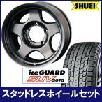 iceGUARD SUV 265/70R16&ブラッドレーV(4本set・バランス組込み済)