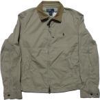 ラルフローレン コットン ライダーズ ジャケット USED加工 ベージュ Polo Ralph Lauren 105
