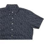 ラルフローレン 半袖 ワンポイント ボタンダウンシャツ 花柄 ブルー系 Polo Ralph Lauren 1290