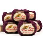 編み物 ダイヤ アルパカビス 6玉パック|数量限定|