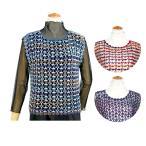 ダイヤ リバティベスト|ダイヤ毛糸 材料パック ミセス ベスト かぎ針編み あみもの 手編み