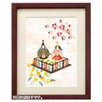 ビーズデコール 日本の四季 3月 ひな祭り BHD64 | MIYUKI ビーズ クラフト 雛祭り お雛様 ハンドメイド
