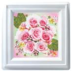 ビーズ 実用小物・インテリアキット ミニプッシュ ローズブーケ G-412 |花|バラ|薔薇|ピンク|トーカイ|通販|