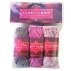 ビーズ LOOPDeDOOシリーズ LOOPDeLoom アクリル糸3セット LWY1 ビーズ キット ループデドゥ