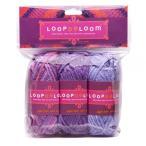 ビーズ LOOPDeDOOシリーズ LOOPDeLoom アクリル糸3セット LWY2 ビーズ キット ループデドゥ