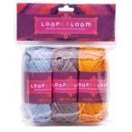 ビーズ LOOPDeDOOシリーズ LOOPDeLoom アクリル糸3セット LWY3 ビーズ キット ループデドゥ