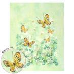 ビーズ ビーズデコール パート15 日本の12か月シリーズ シロツメ草と蝶(卯月・4月) BHD-87|イベント|花