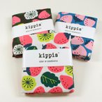 kippis mansikka いちご 50cm オックス カットクロス 生地 布 布地 綿 綿100 コットン フルーツ いちご 北欧