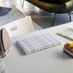 ちょいがけアイロン台 平型 チェックGY4989 | アイロン アイロン台 ソーイング 省スペース コンパクトサイズ 洋裁 北欧風 手作り 手芸 道具
