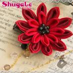 クラフト ソーイング・布手芸 つゆつきのつまみ細工キット つゆつきの花の2wayブローチ 紅|piece|ピース