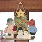 クラフト パッチワーク・キルト 加藤礼子のカントリークリスマス スーとビリーのクリスマス|オリムパス|期間限定SALE|