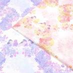 生地 綿布 みすゞうた 花のお使い シーチング KMS-13 ブラウス 金子みすゞ 詩 通販 トーカイ 画像