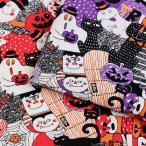 生地 綿布 ジョイフルハロウィン CB SO-9300-1|仮装|子供|女の子|スカート|巾着|バッグ|