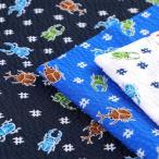 Yahoo!手芸材料の通販シュゲールYahoo!店生地 綿布 サマーセレクト 昆虫 リップル 38045-13|じんべい|甚平|巾着|子供|キッズ|ベビー|男の子|夏|まつり|