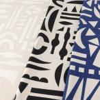 エレンベーカー 幾何 綿麻キャンバス 1m単位の切売り 生地 布 布地 モダン 北欧調 北欧風